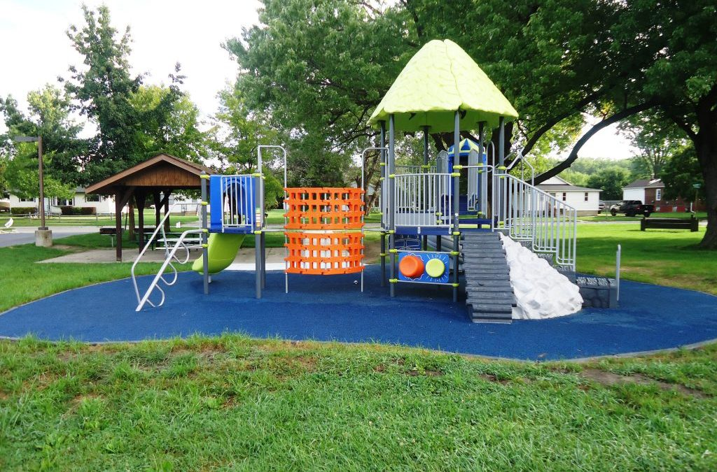 Martin Luther King Park play structure