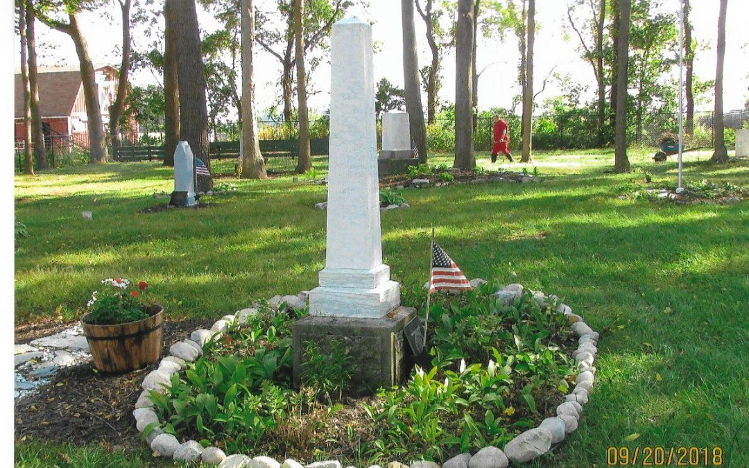Preservation of 170-year-old cemetery